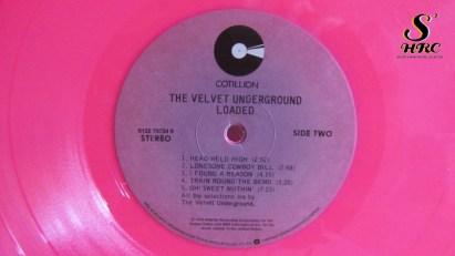 "Velvet Underground, Lou Reed, pink vinyl, lp, 12"""
