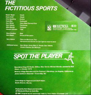 Mick Mason's Fictitious Sports credits
