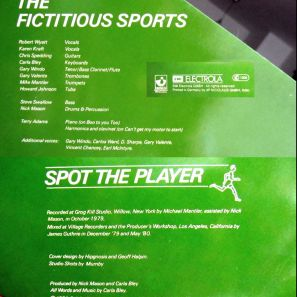 Mick Mason's Fictitious Sports credits