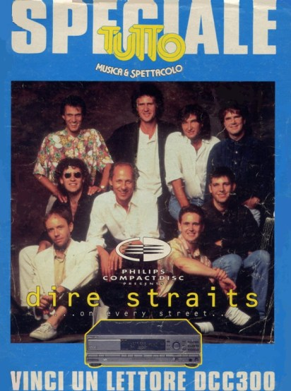 Live in Italy Mark Knopfler dire straits tour 1992