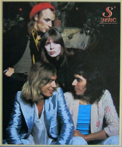 Kevin Ayers, Brian Eno, Nico, John Cale. 1 June 1974