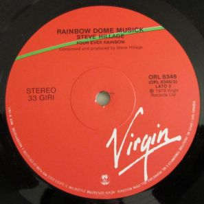 lato b, LP, etichetta del vinile