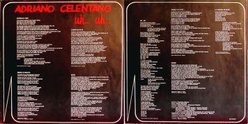 testi di adriano celentano, vinyl, lp