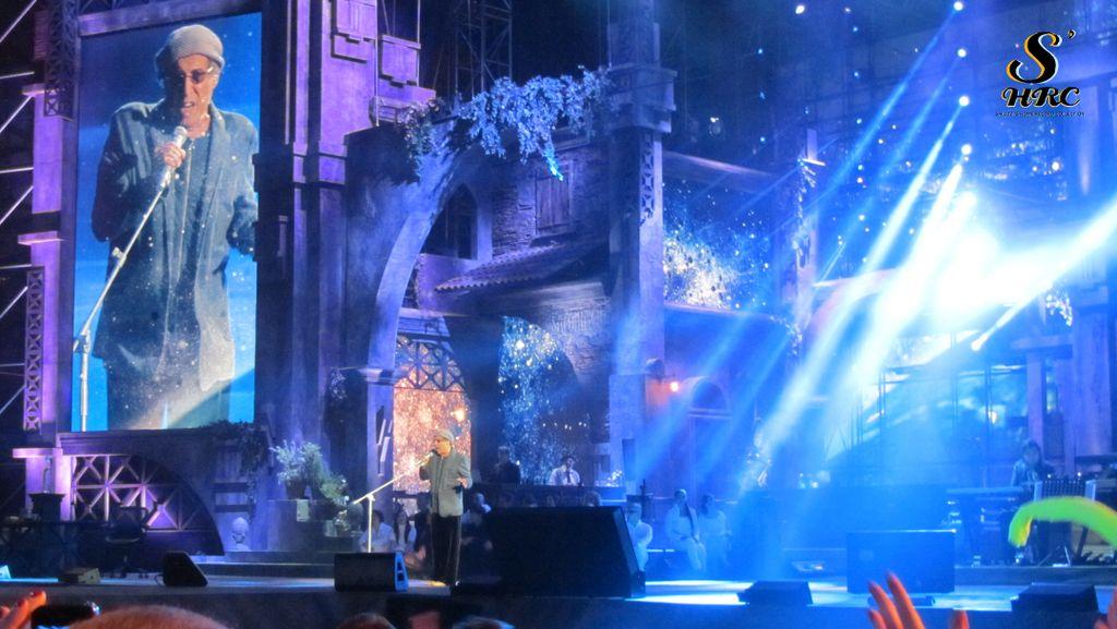 Rock Economy Adriano Celentano live in Verona