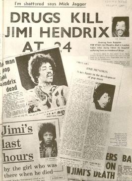 Hendrix Death articles