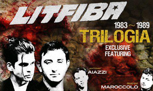 Litfiba Trilogia Live 2013 Locandina
