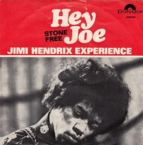 "hey joe 45 rpm stone free 7"""