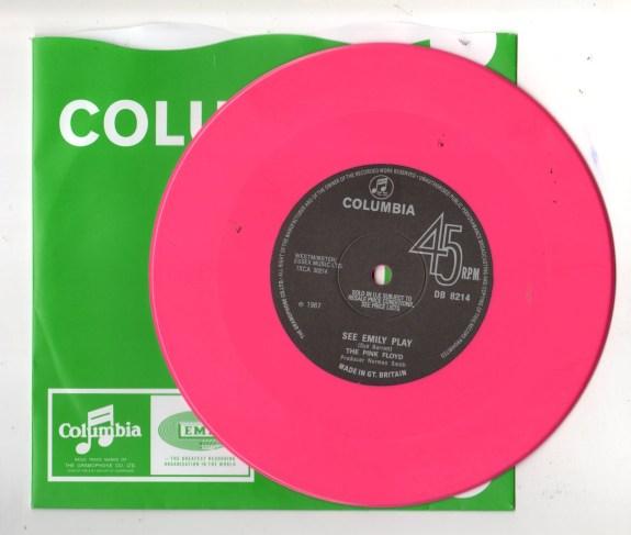 "Pink Floyd Vinyl 7"""