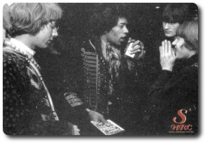 Hendrix, soft machine, wyatt, speakeasy