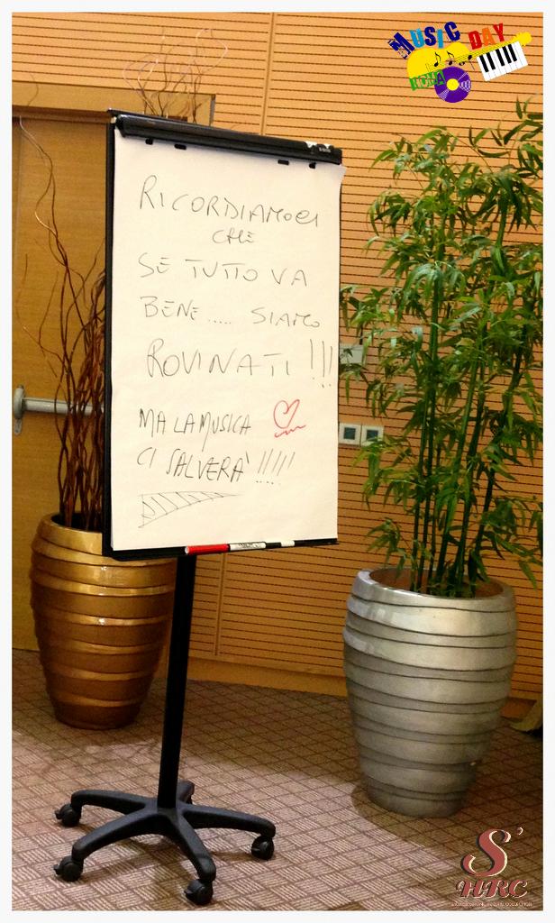se_tutto_va_bene_siamo_rovinati al music day roma