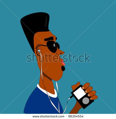 black-man-with-earphones-listening-to-digital-music-device