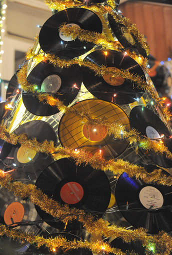 Vinyl Tree Albero di Natale Vinile