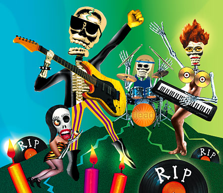 dead rock poets