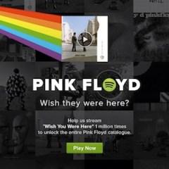 Pink-Floyd-Spotify eventi mondani musica 2013