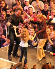 Springsteen on stage eventi mondani musica 2013