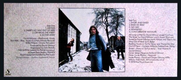 Gilmour on SHRC