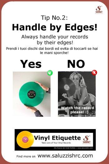 Vinyl Etiquette 2 Handle by Edges