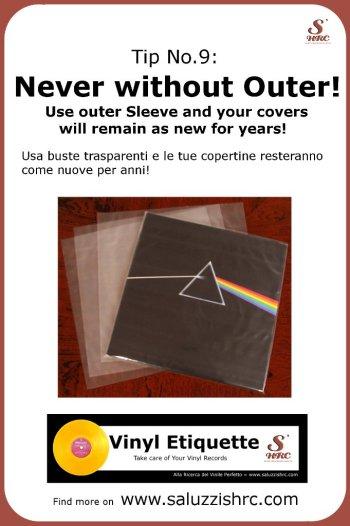Vinyl Etiquette 9 Outer Sleeve