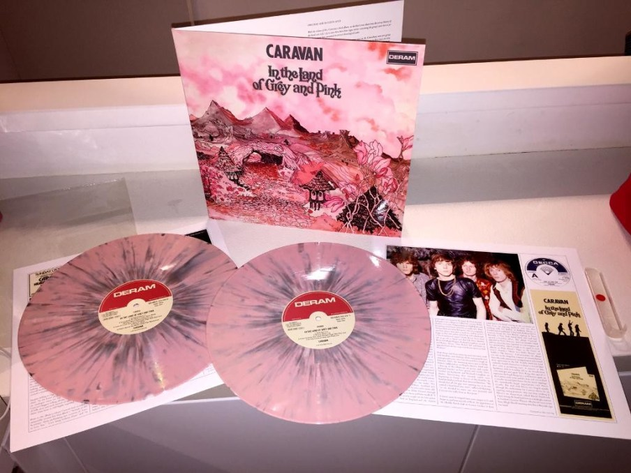 caravan in the land of grey and pink Deluxe 40th anniversary Edition