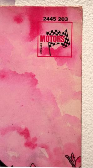 Web In the Land Motors - etichetta