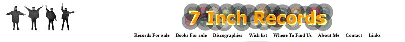 7inch Records Banner