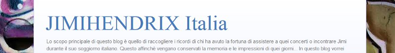 JimiHendrix Italia