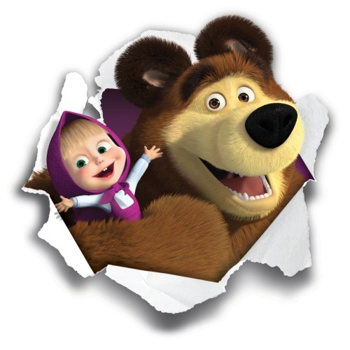 Masha e orso rock e bambini