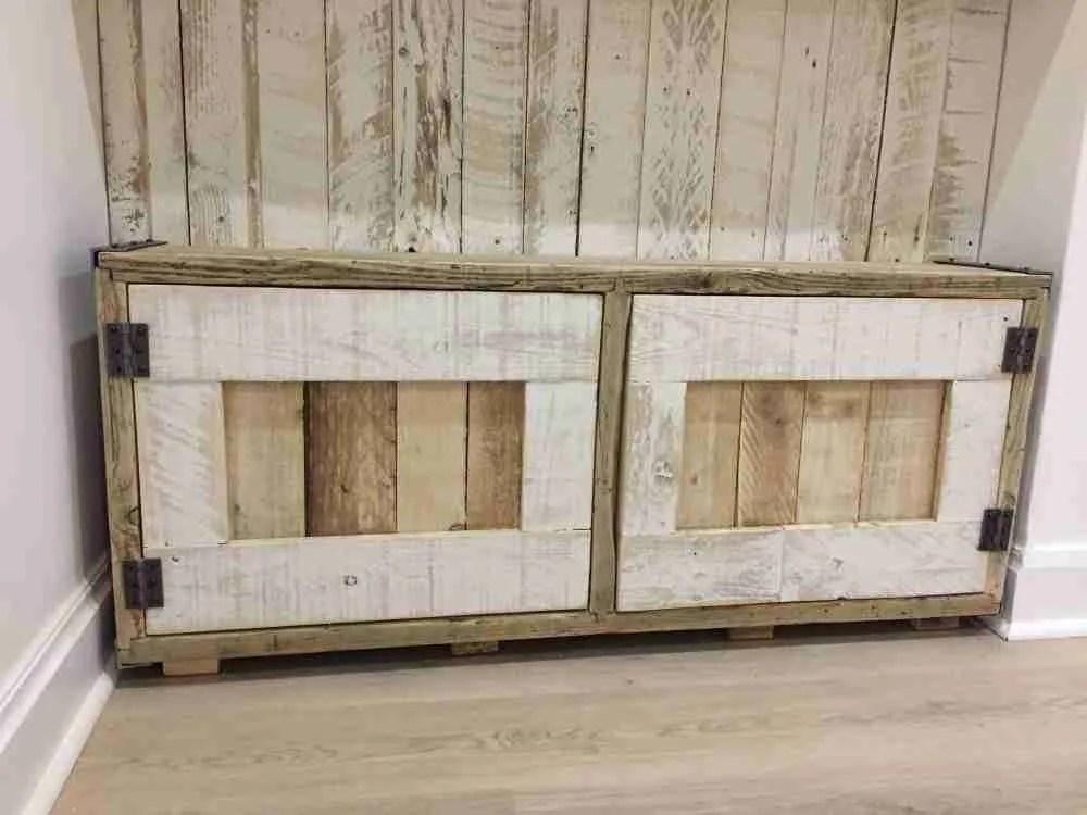 Custom made solid wood cabinets
