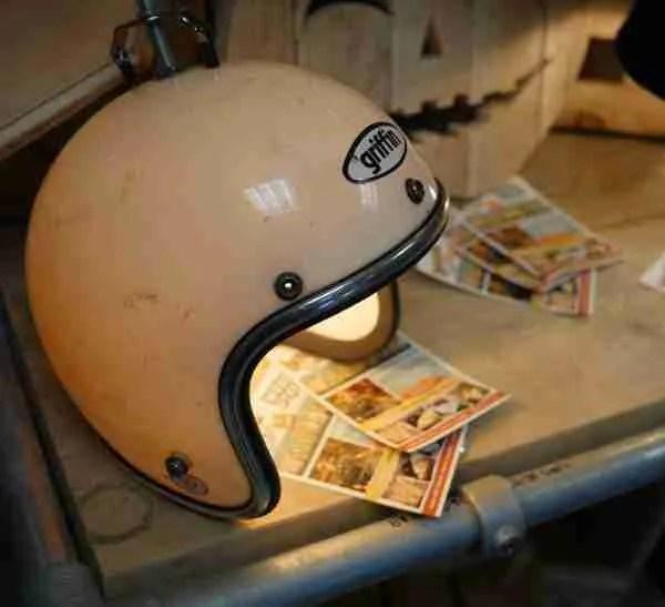 motorcycle helmet light