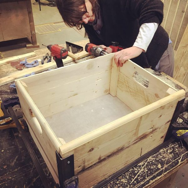 using Powertools with the salvage sister in brighton