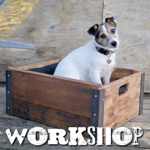 Industrial box making workshop