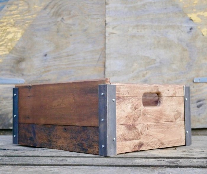 Learn how to make a wooden box