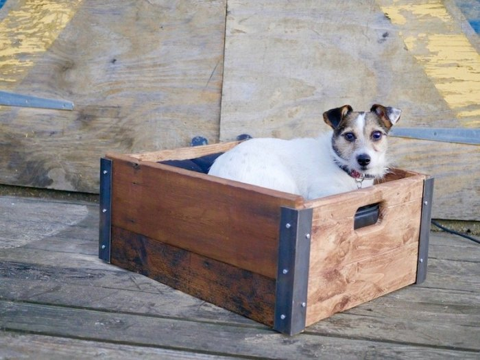 Crate bed for small dog