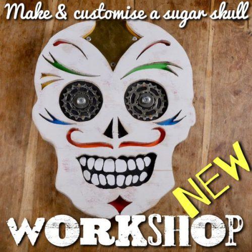Make a sugar skull