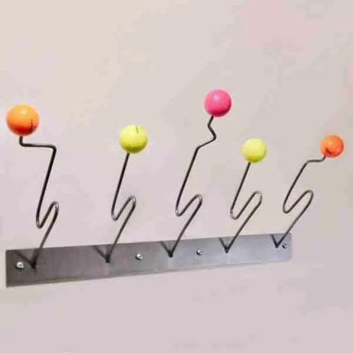 Eames inspired designer coat rack