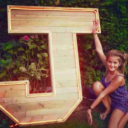 Extra large wooden letters UK