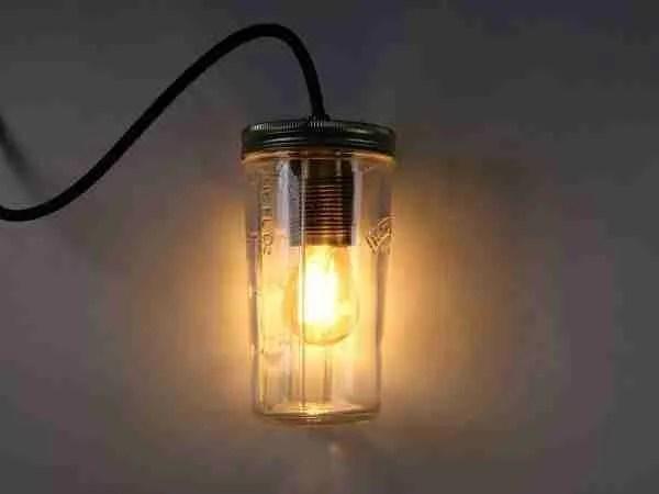 glass jar lamp making kits