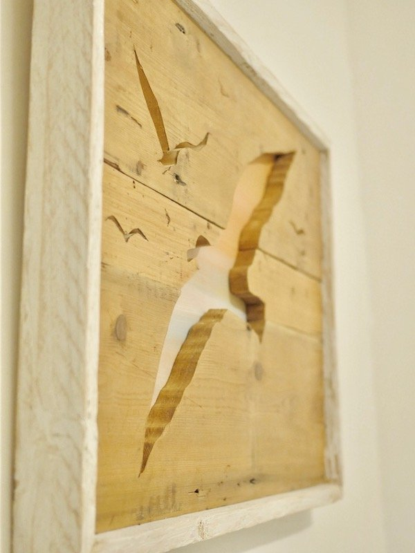 scroll saw wooden artwork