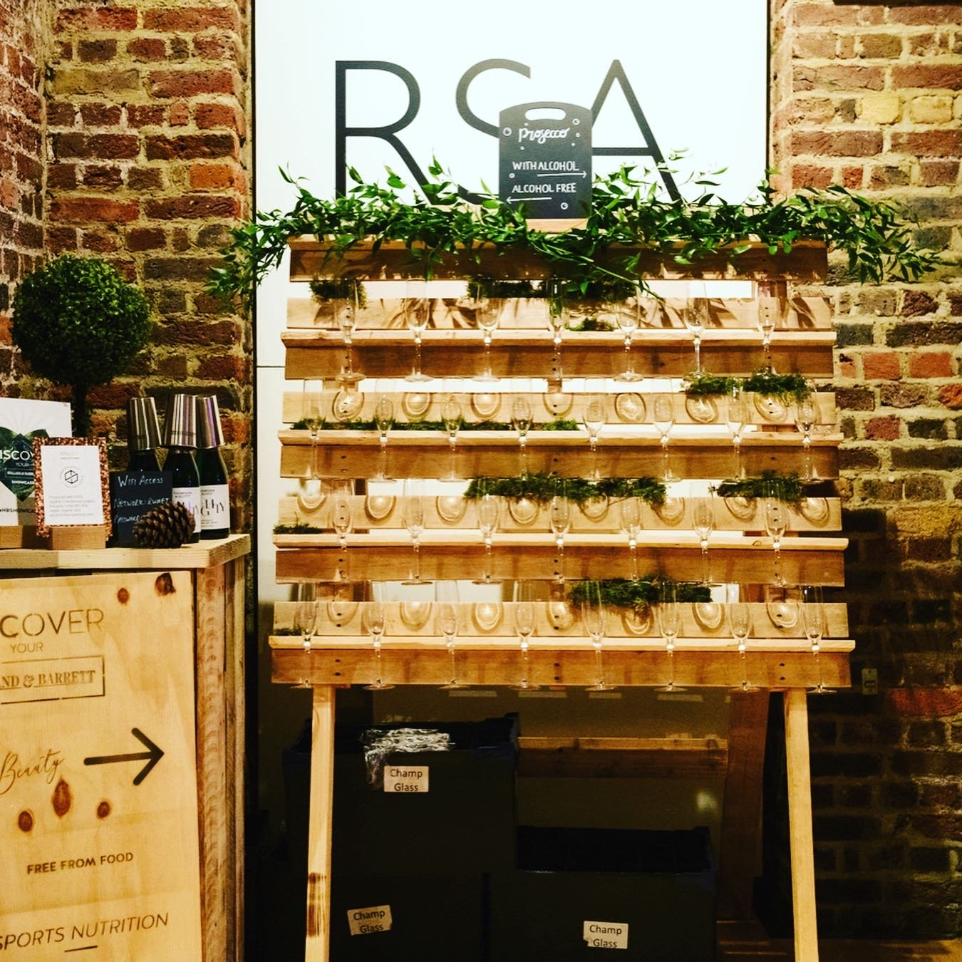 Holland & barrett annual press event at RSA in London