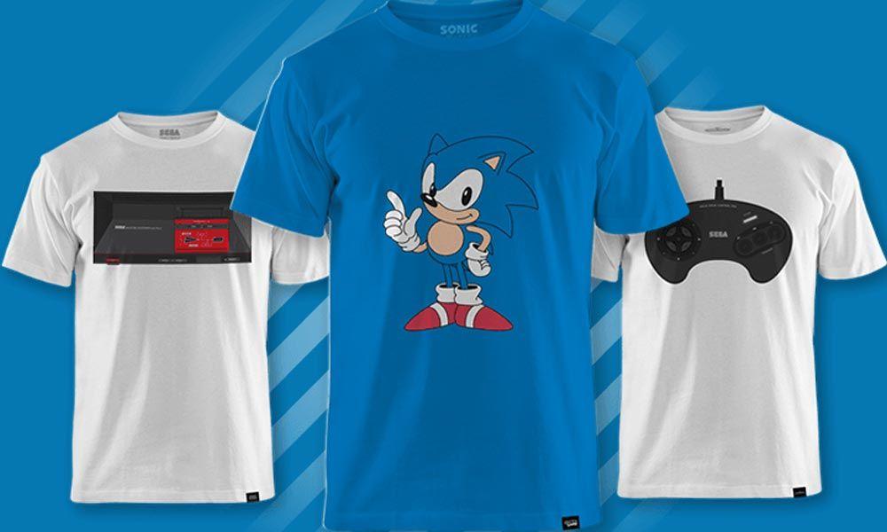 Camisetas Sega