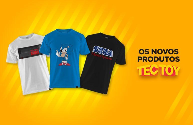 Sega Tectoy Camisetas