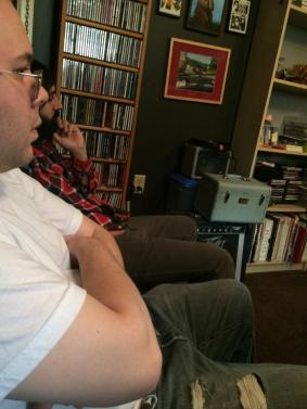 2014-12-07 Recording - Andy and Matt J listen back