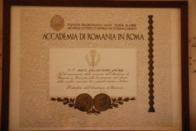 Diploma Accademia di Romania