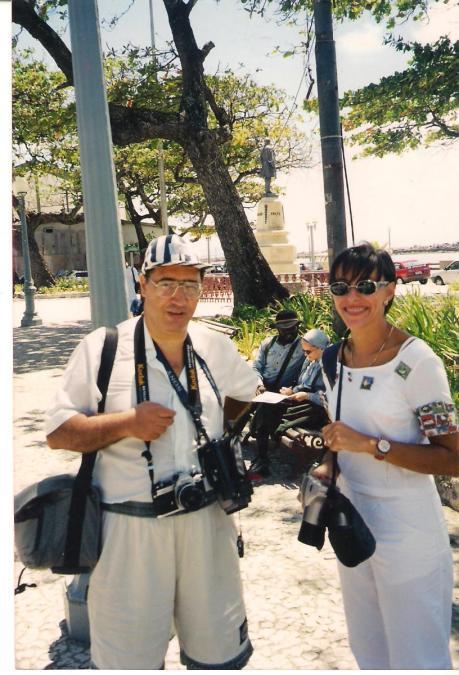 Natal (BR) con una collega
