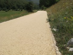 27- lavori proseguono anche dopo l'incrocio con Vallone Cervara in direzione Fonte Aceretta