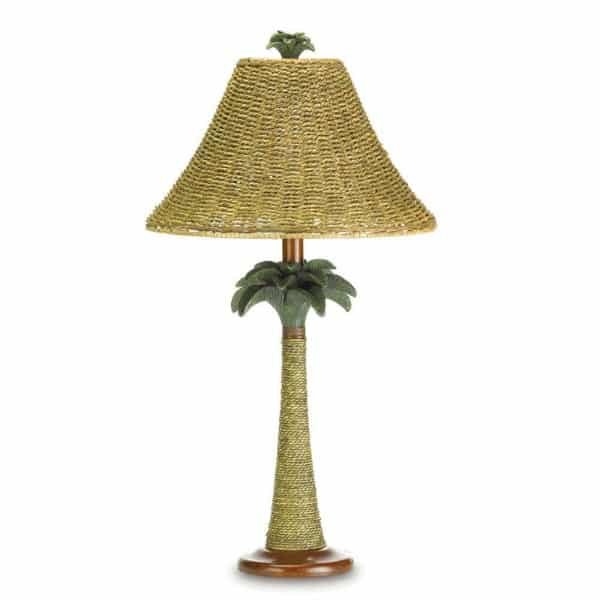 palm tree lamp