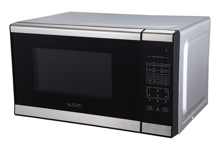 muave small microwave 17 3 w x 10 2 h x 13 deep ideal for boats small kitchens hotel motel great small microwave for popcorn