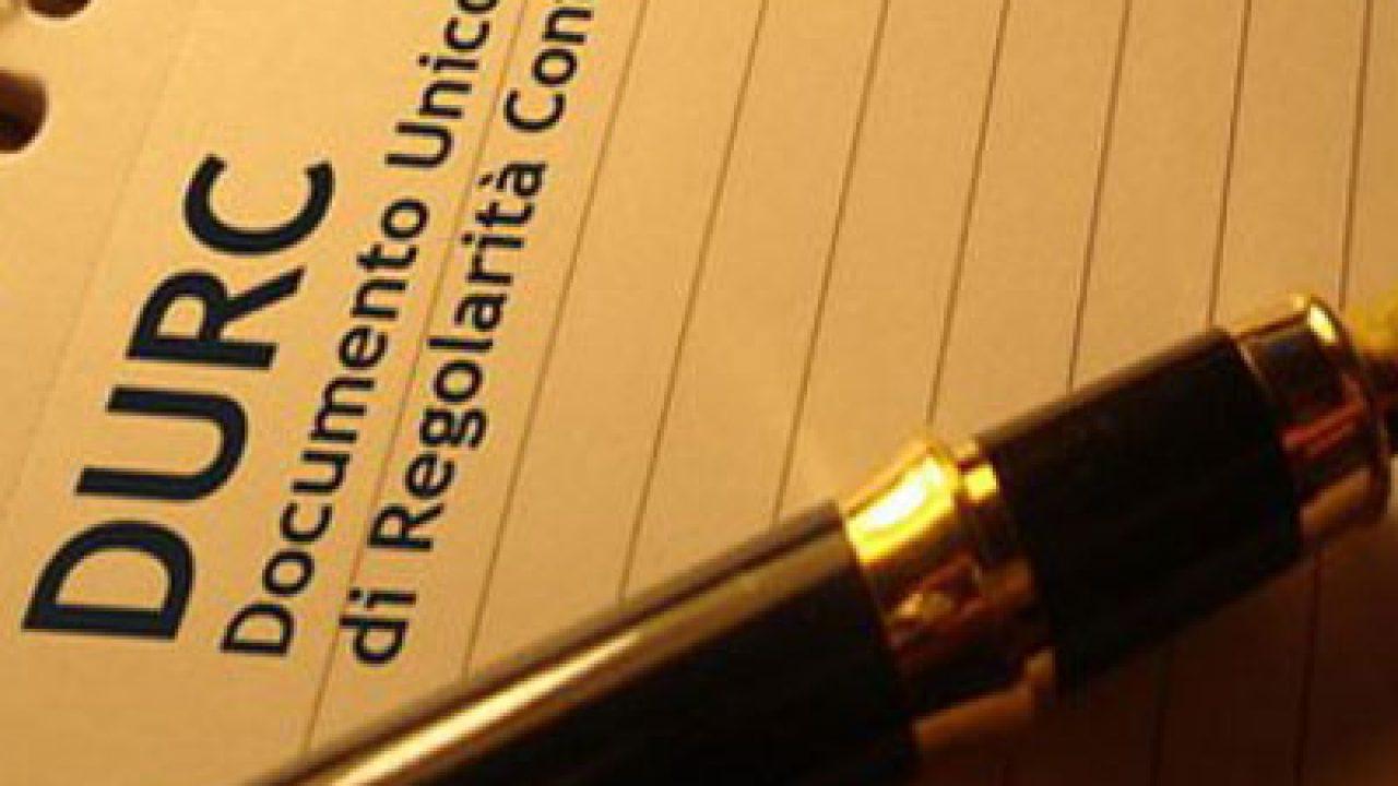 Il Documento Unico di Regolarità Contributiva: DURC