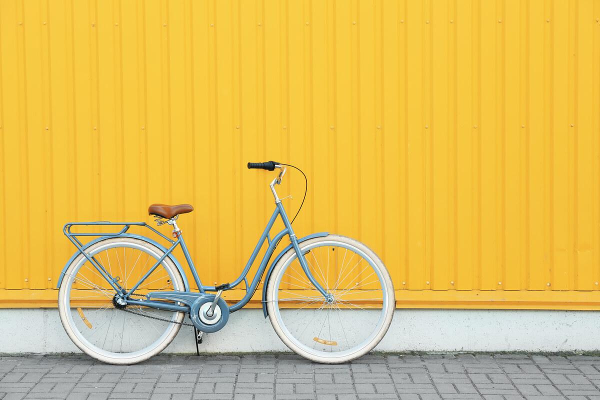 Posteggio biciclette in area condominiale