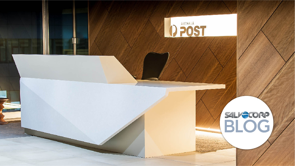 Combining Solid Surface and HPL Products for Your Office Design